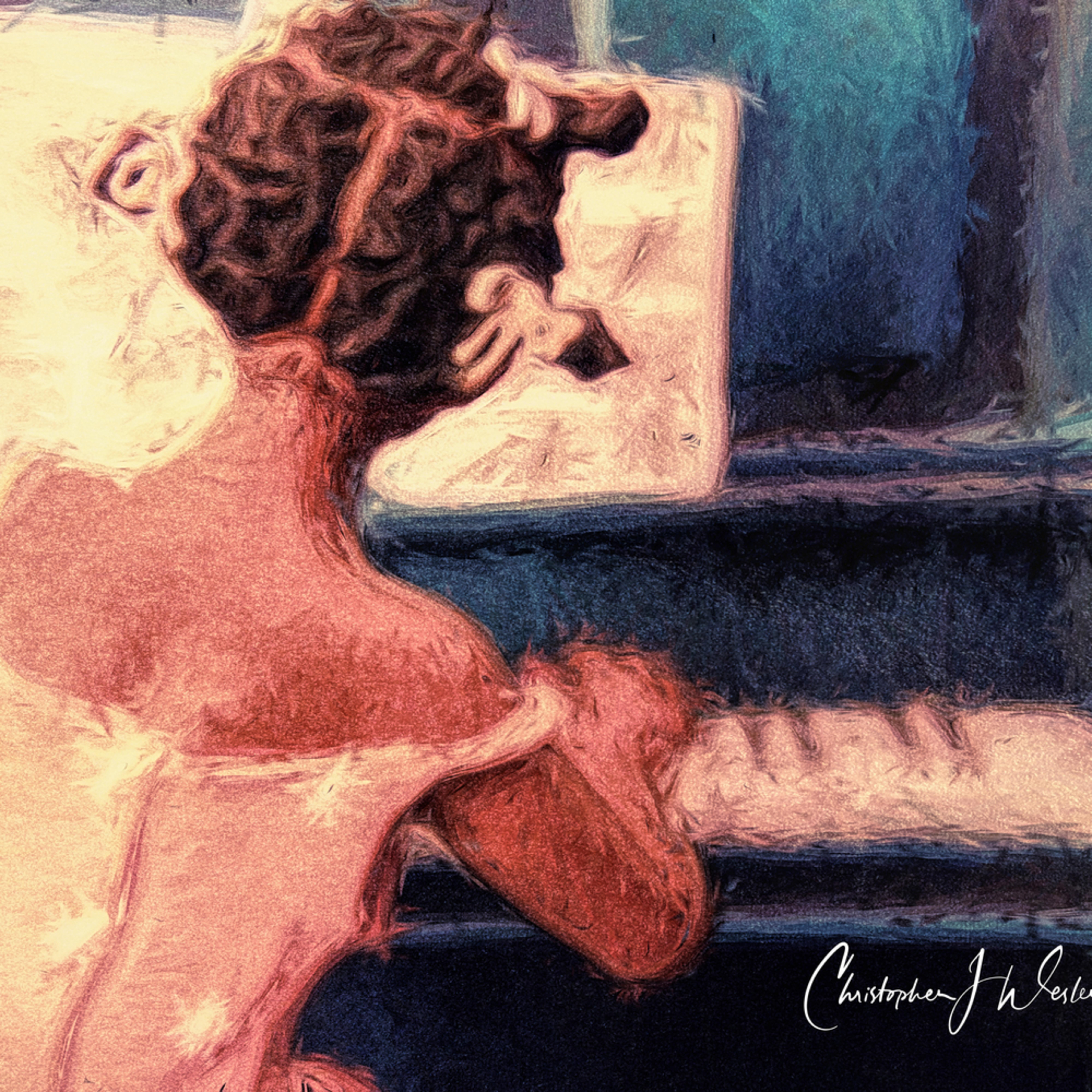 Piano girl k646yz
