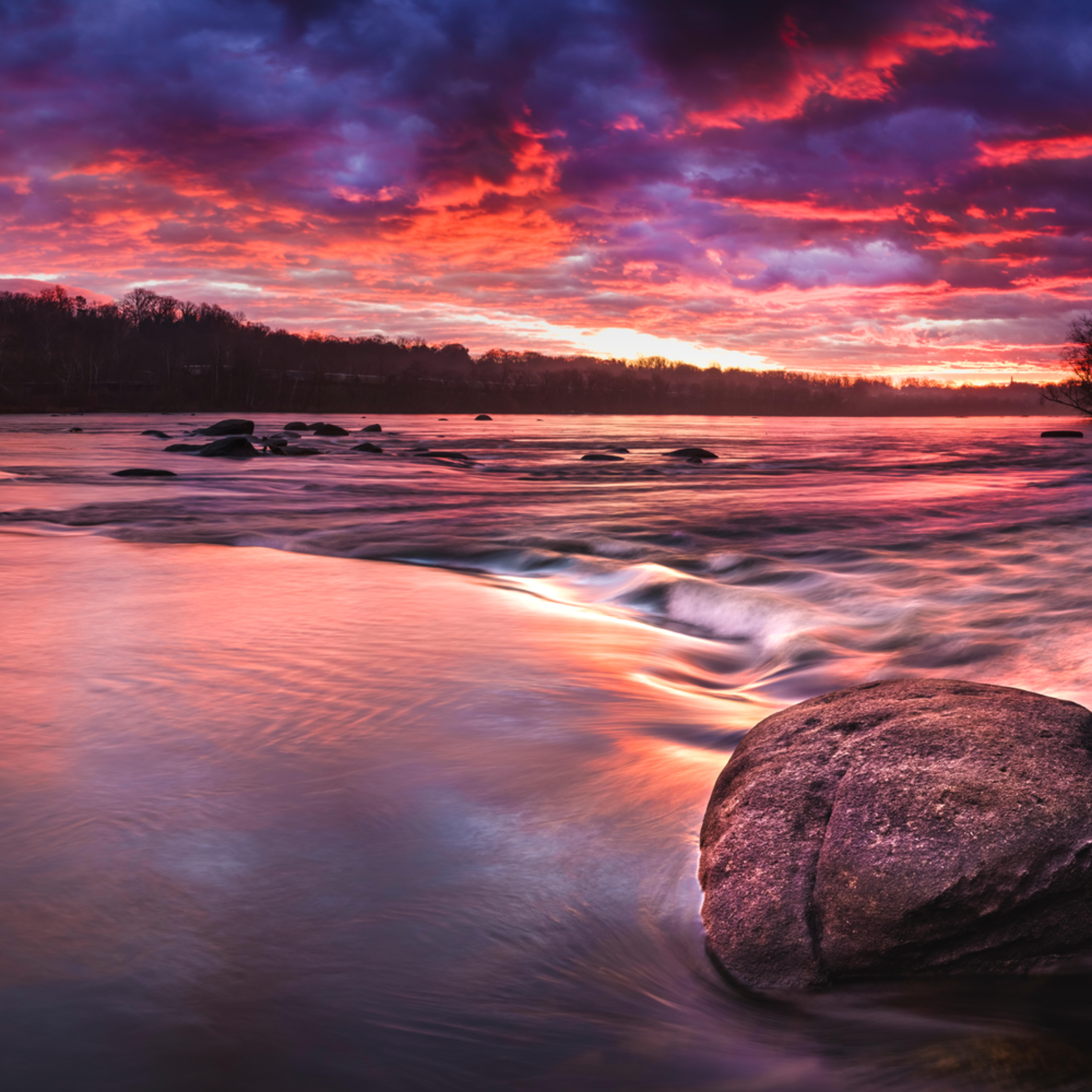 James river sunrise tqc25a