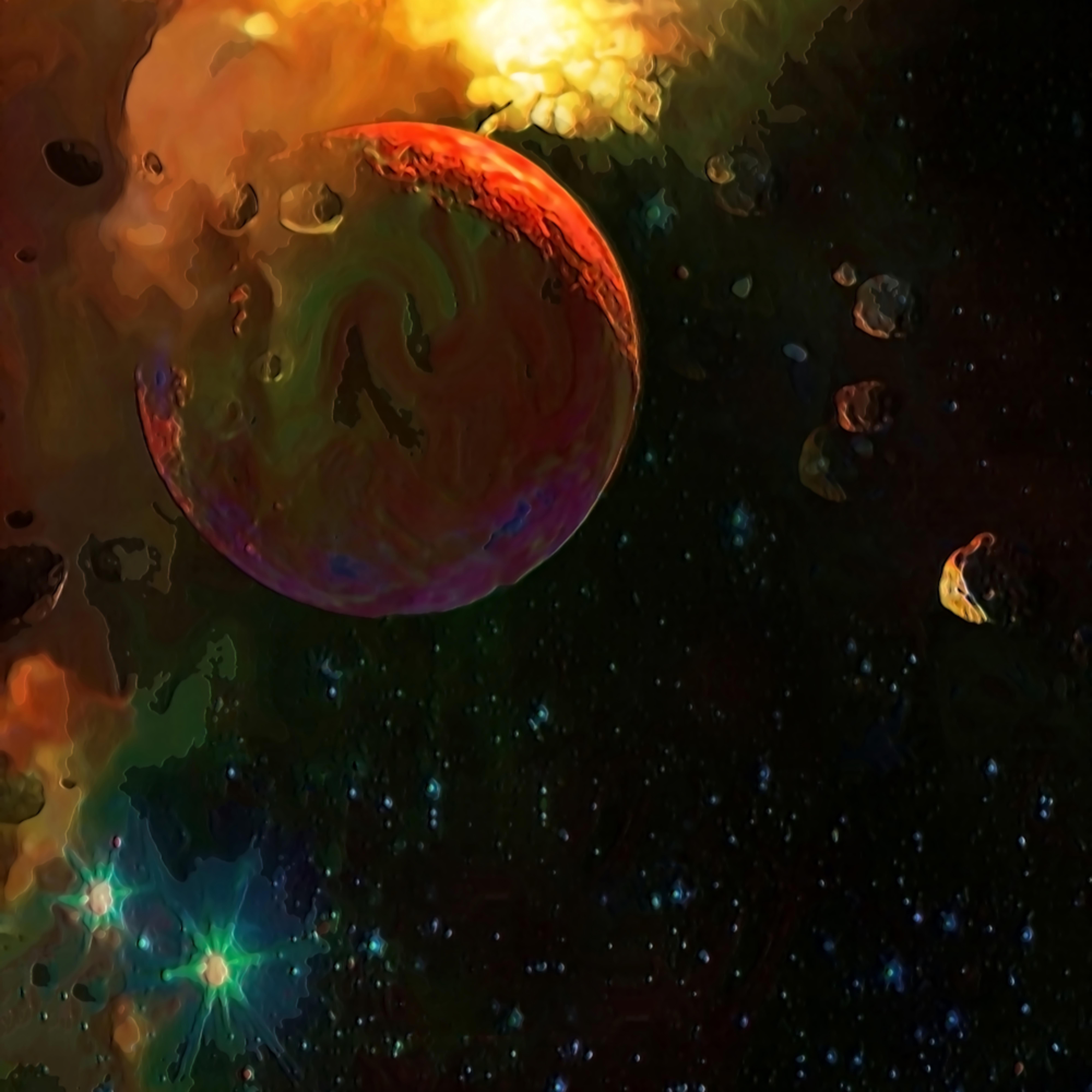 Cataclysym in space walfju