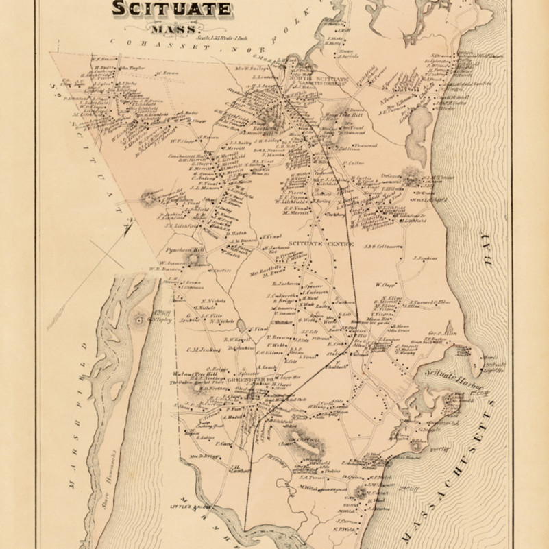 060 p79 scituate town1879plate33 14x17.5 32 afmvfa
