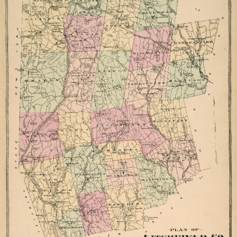 Litchfieldcountymap printed ho0v79