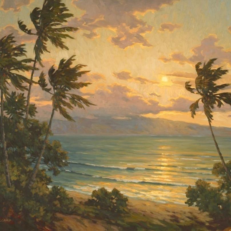 Sunset over lanai by daryl millard vzo5pc