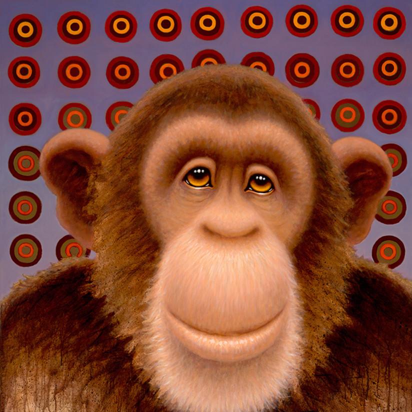 Psychedelic chimp 4 jedlwa