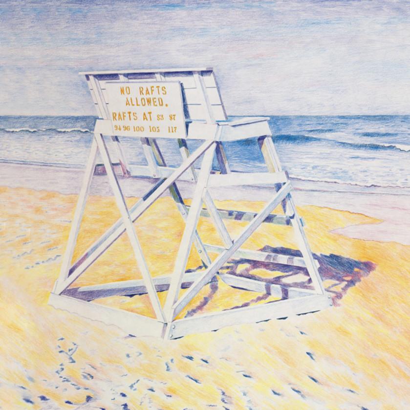 Lifeguard chair 24x36 yj8thj
