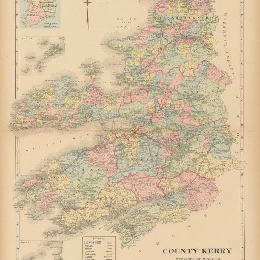 Map of county kerry oorpfp