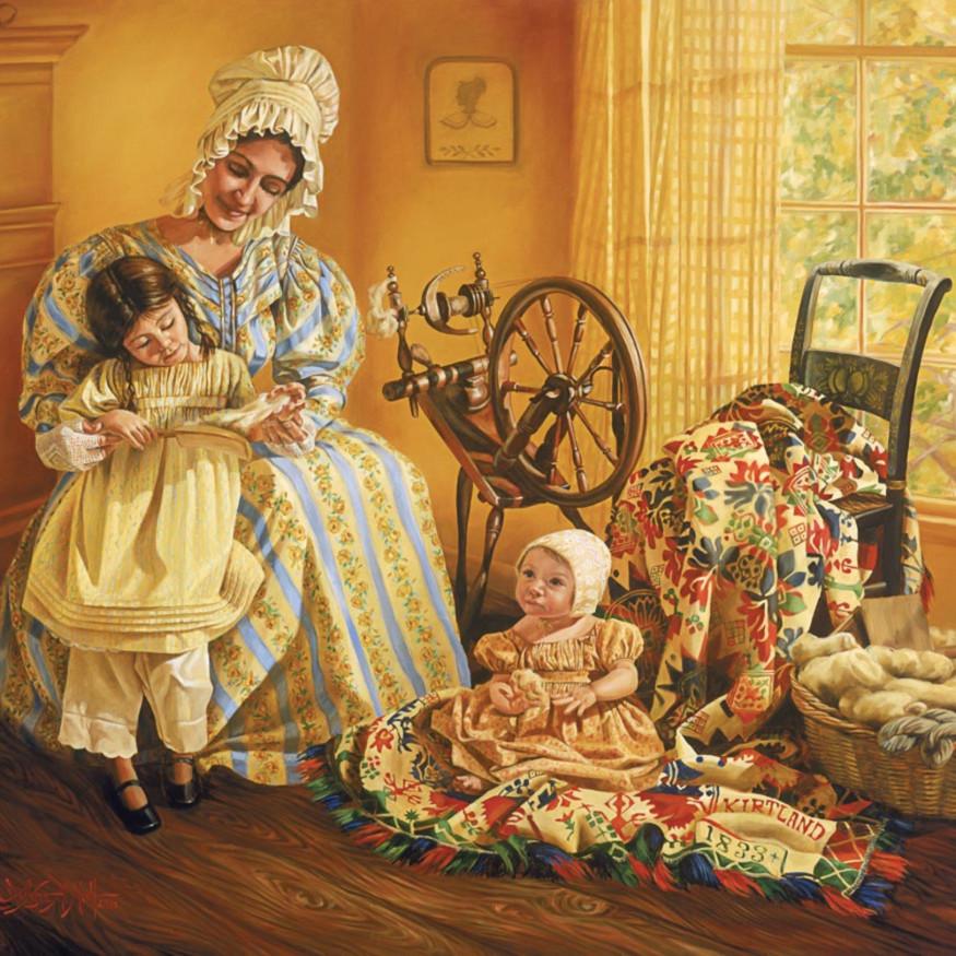 Lynde mott emma with children iayecj