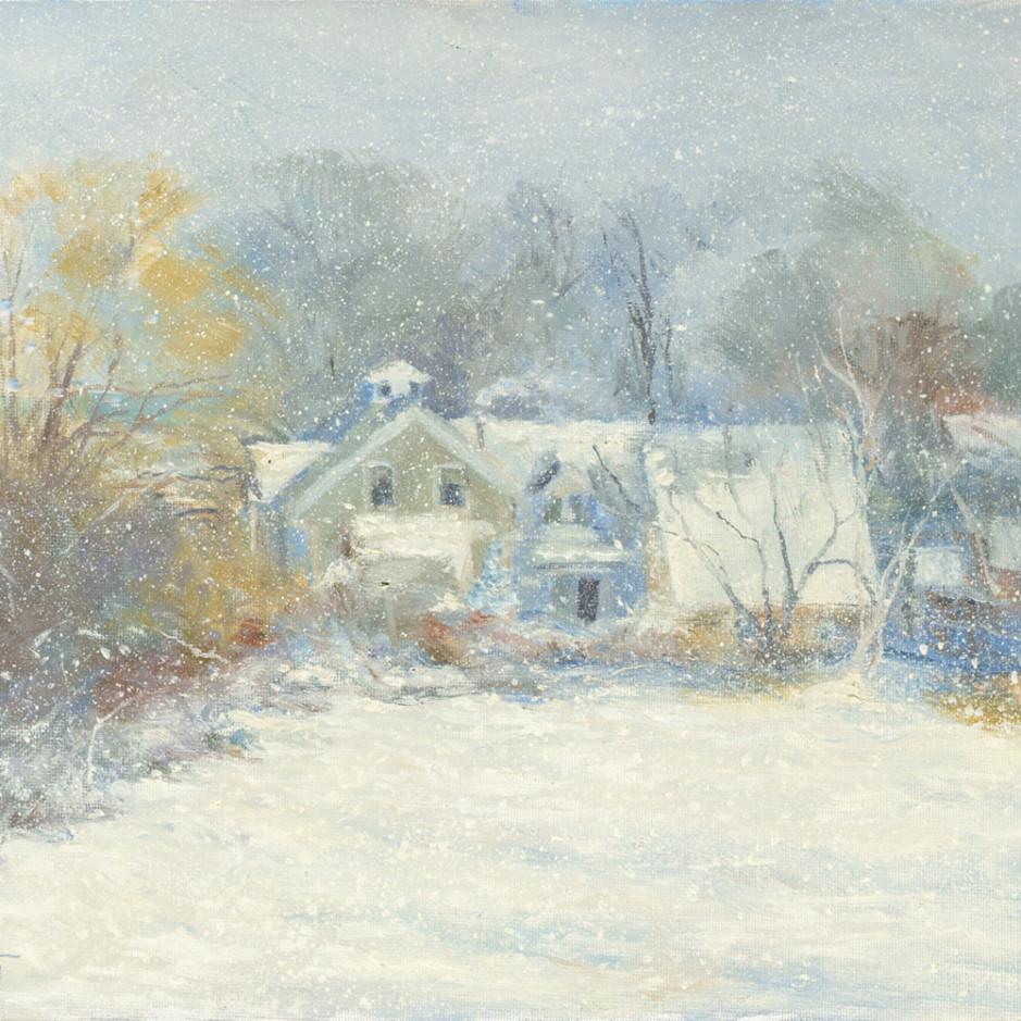 Snow house 11x14 usbs1y