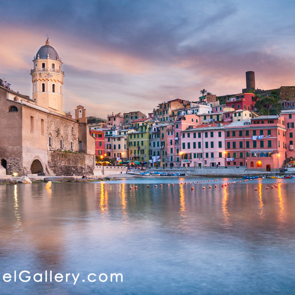 Vernazza sunset cinque terre jibyil