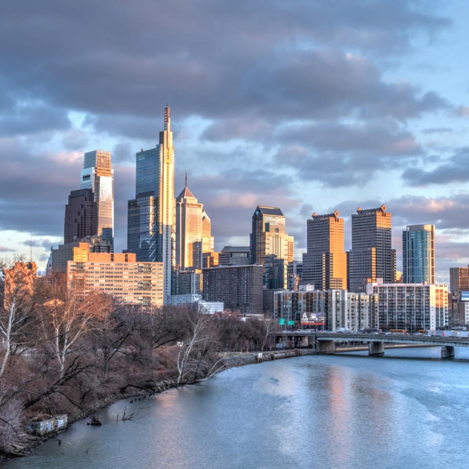 Philadelphia skyline   michael sandy yjqhip