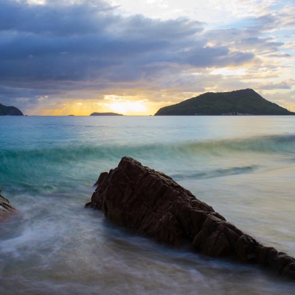 Silk sunrise shoal bay port stephens nsw australia landscape photo print fgsy7f