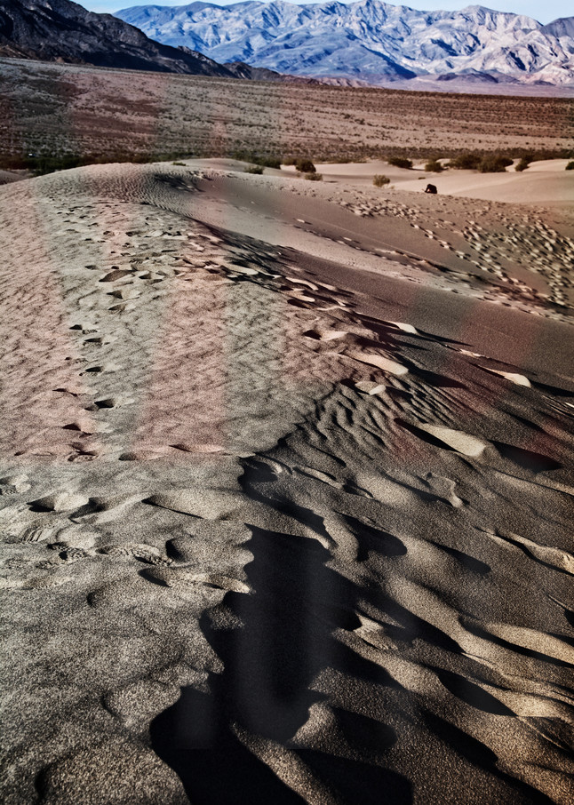 Beautiful Fine Art Paintings and Photographs by Vivian Lo – Picture of sand dunes in Death Valley. Originals and Prints for sale - VLo Photo