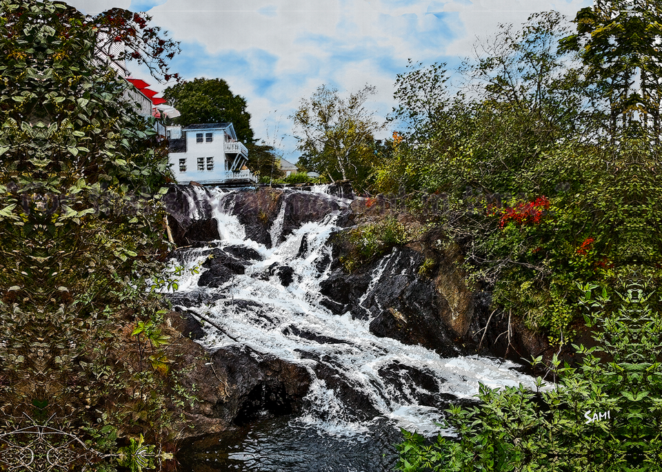 The Waterfall Art for Sale