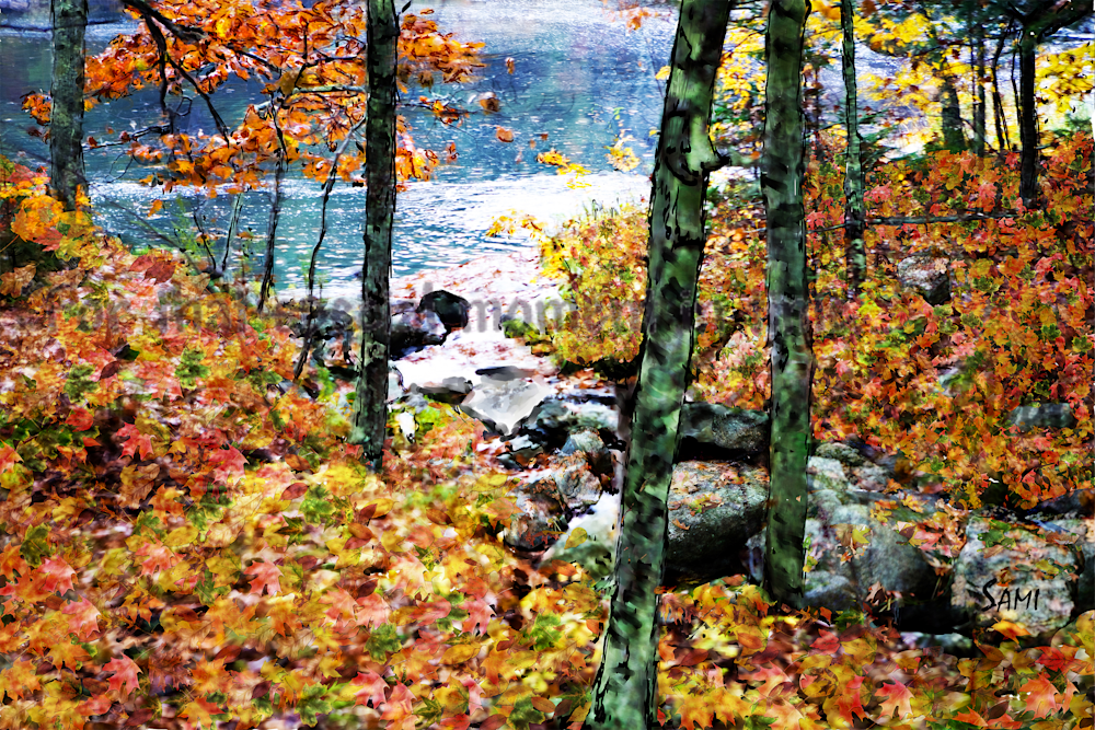 """Fall in Maine Art for Sale"""