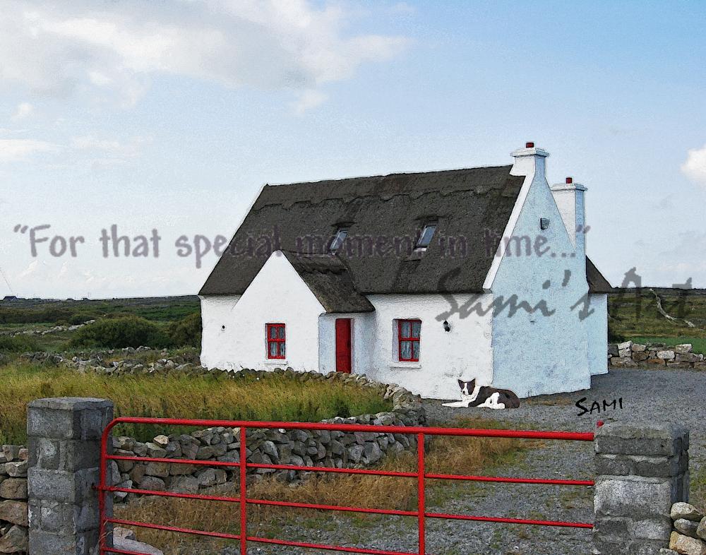 """Irish White House Art for Sale"""
