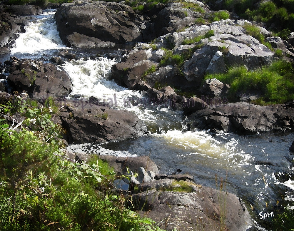 """""""Ring of Kerry Rocky Stream Photograph for Sale as Fine Art"""""""