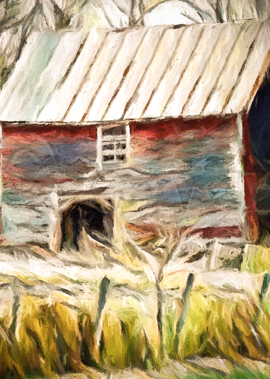 Vt Barn Water Color Photography Art | Gary Tobler Fine Art