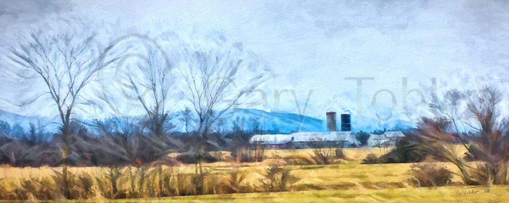 VermontFarmWaterColor