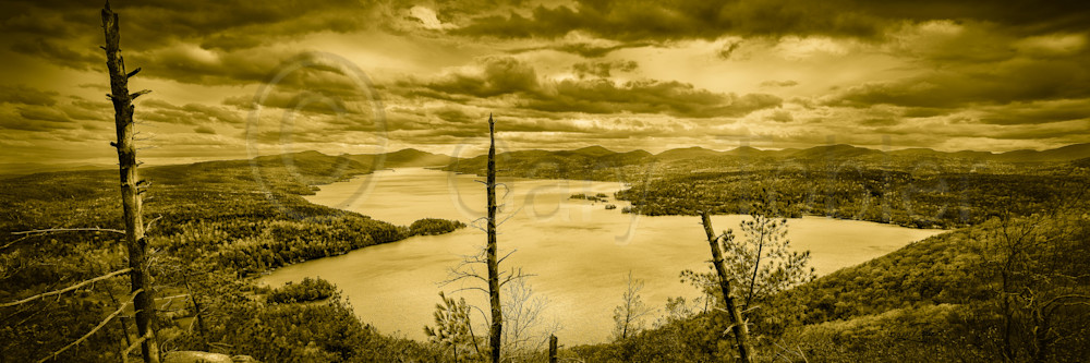Lake George From Record Mt Photography Art | Gary Tobler Fine Art