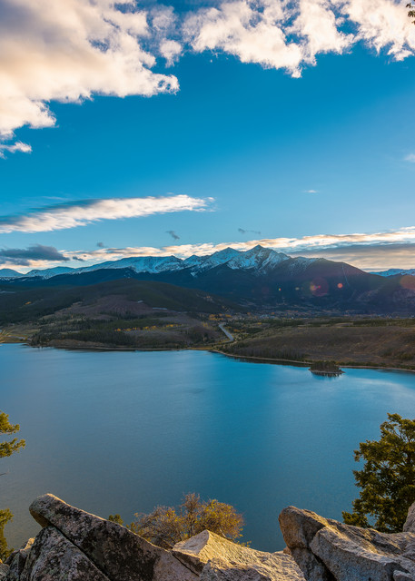 Sunset Photo of Lake Dillon Summit County Colorado