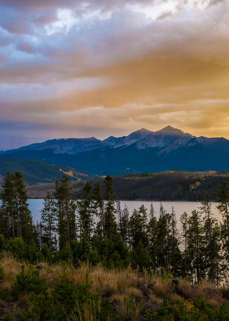 Photo of Lake Dillon Sunset over Peak 4 Summit County Colorado