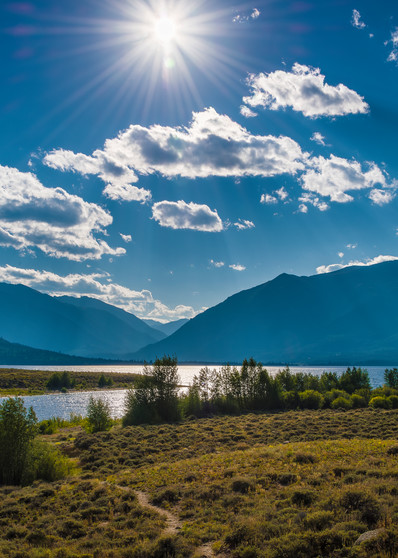 Colorado Landscape Photography of Twin Lakes in Colorado Prints for Sale