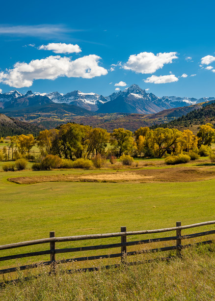 Photography Prints of Mount Sneffels & Mountain Range Southwest Colorado