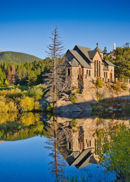 Landscape Photo Saint Malo's Chapel Allenspark Colorado