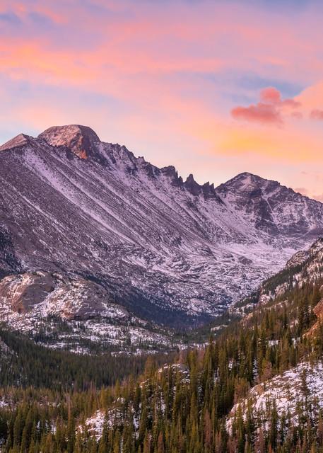 Photo of Colorado's Longs Peak and Glacier Gorge Rocky Mountain National Park CO
