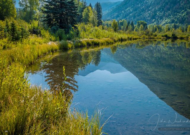 Crystal River Lake Near Marble and Aspen Colorado