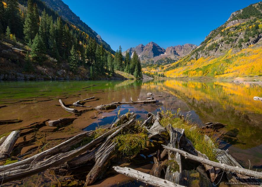 Buy Colorado Photography Prints of Aspen Maroon Bells