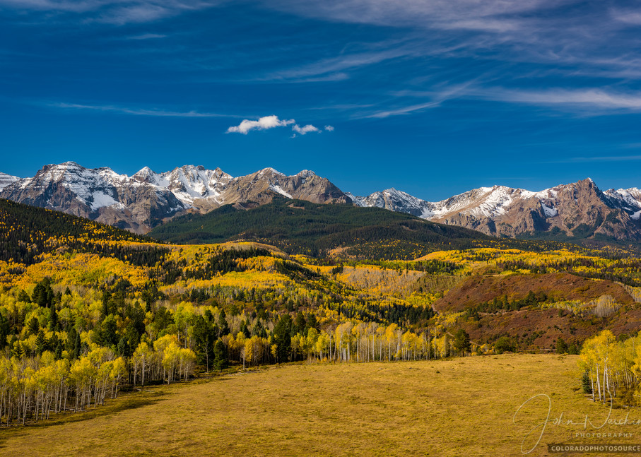 Western Sneffels Range & Wilderness Area - Colorado Landscape Prints for Sale