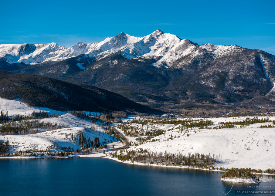 Colorado Photography of Lake Dillon Reservoir, Peak 10 & Highway 9 - Prints for Sale