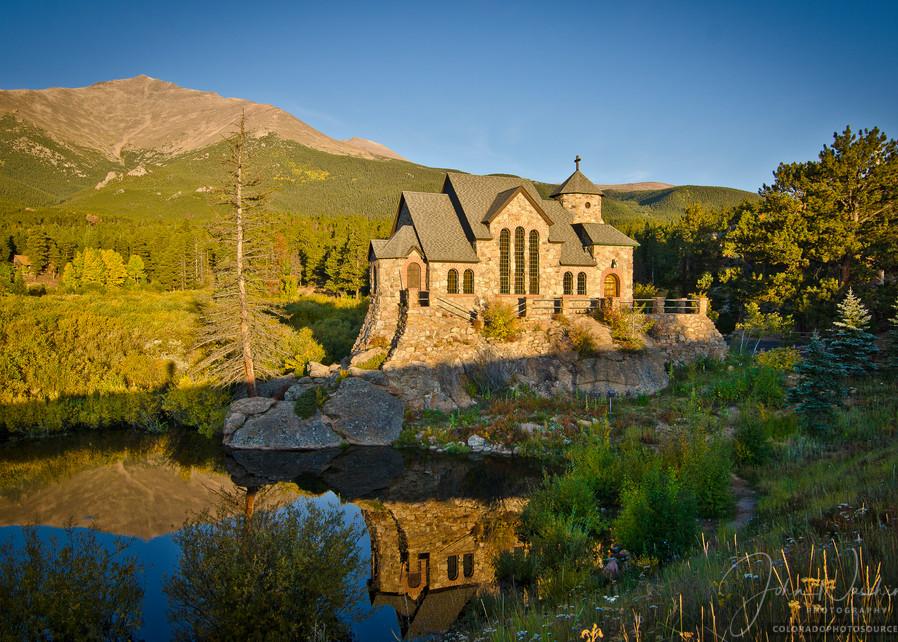 Photographic Prints St. Malo's Chapel, Allenspark Colorado