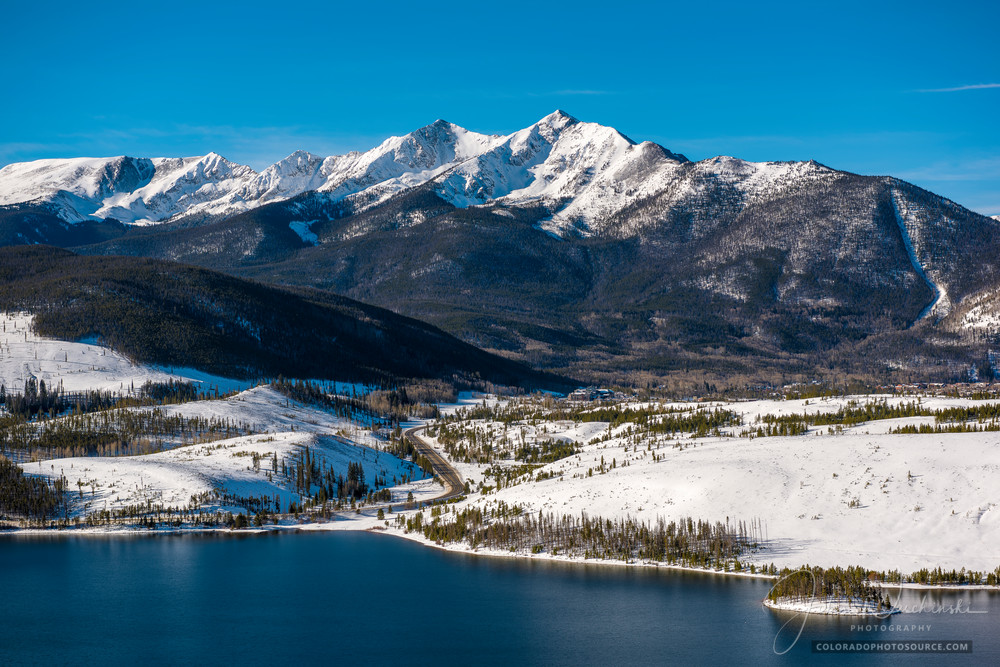 Colorado Photography of Lake Dillon Reservoir, Peak 10 & Highway 9 - Prints for Sale