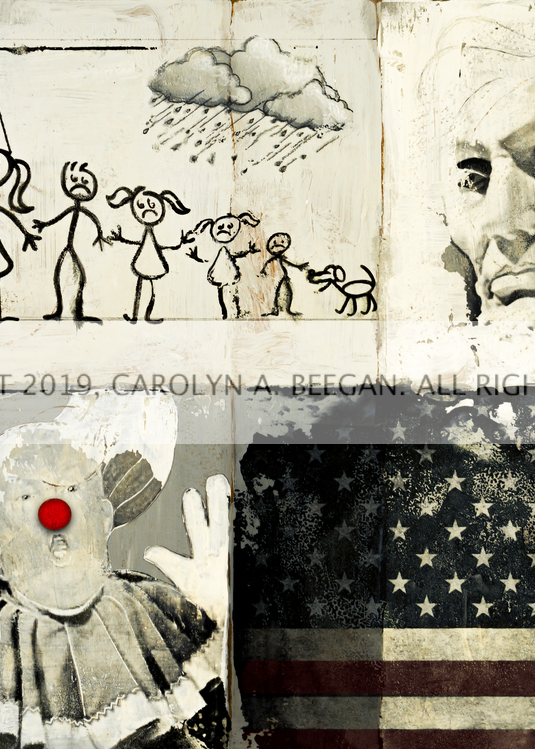 The Greatest Show on Earth No. 2, 2019, by artist Carolyn A. Beegan