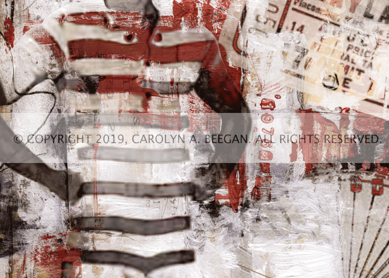 Playland No. 1, 2019, by artist Carolyn A. Beegan