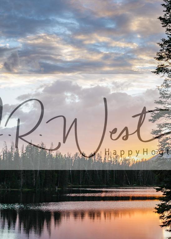 Lake Yellowstone Photography Art   Happy Hogtor Photography