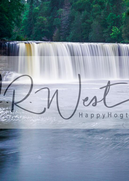 Tahquamenon Falls 2 Photography Art   Happy Hogtor Photography