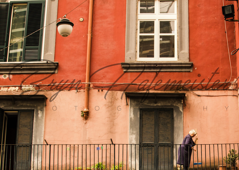 Sweeping a Balcony | Fine Art Travel Photographs