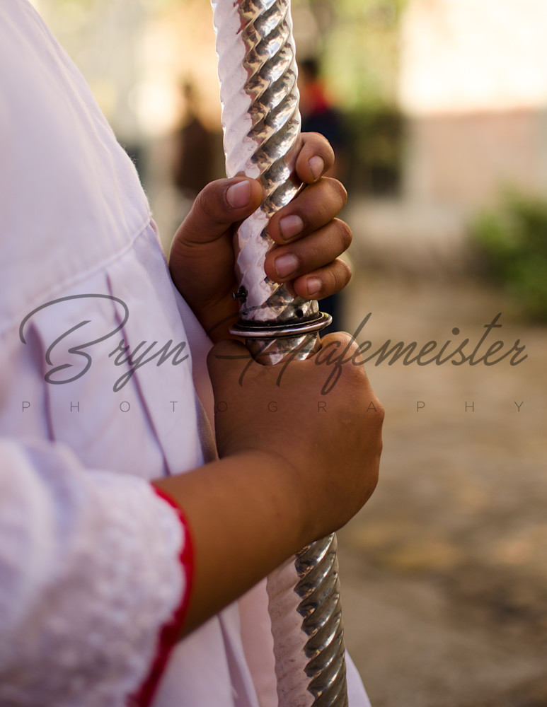 Altar Boy's Hands | Travel Photo For Sale