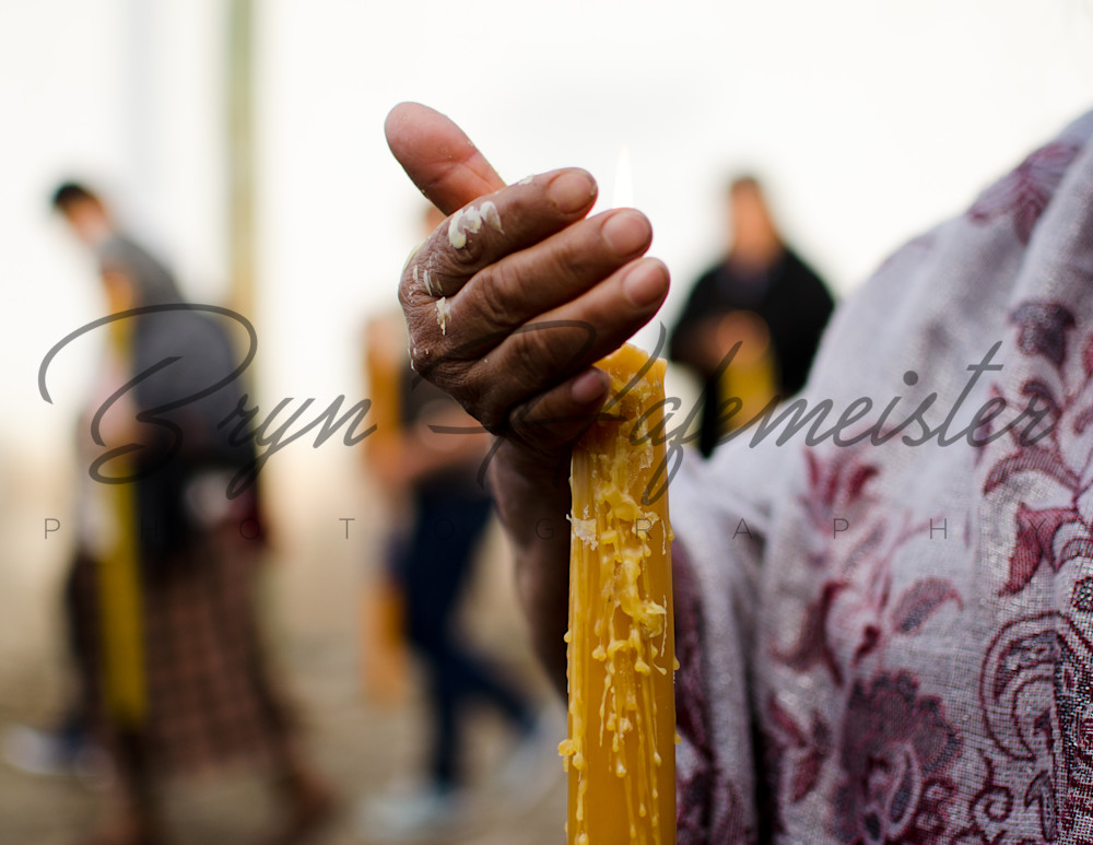 Candle Drips Over The Hand Of A Woman | Fine Art Travel Photographs