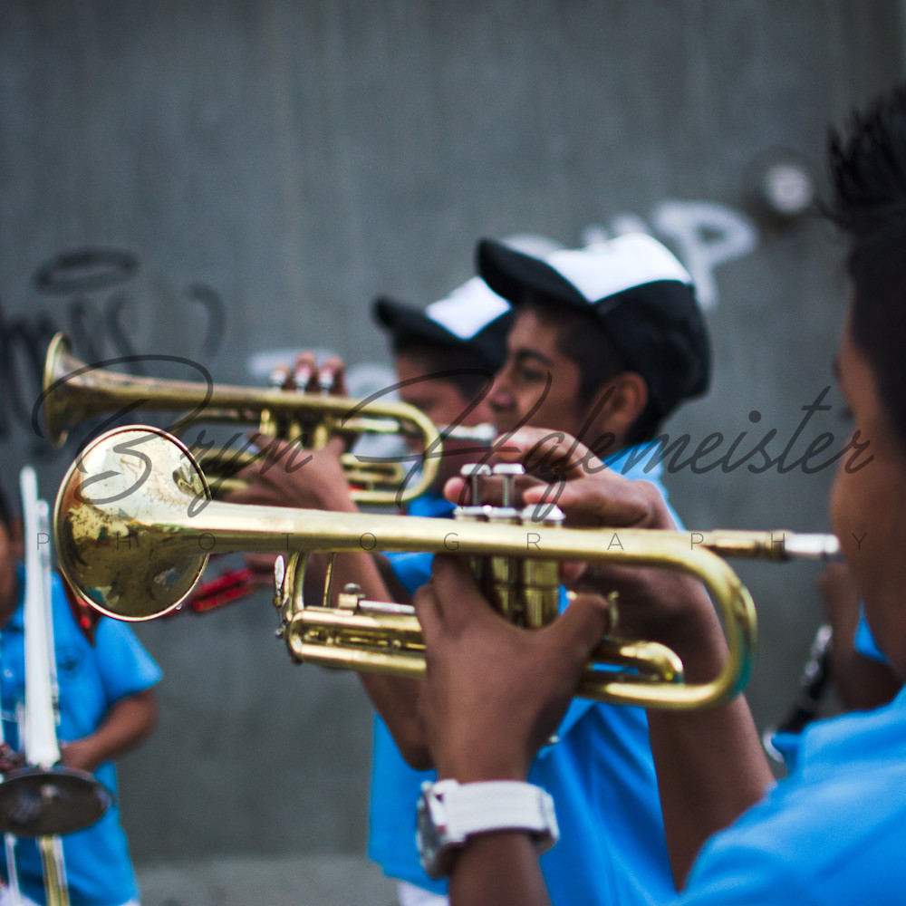 Trumpet Players | Travel Photo For Sale