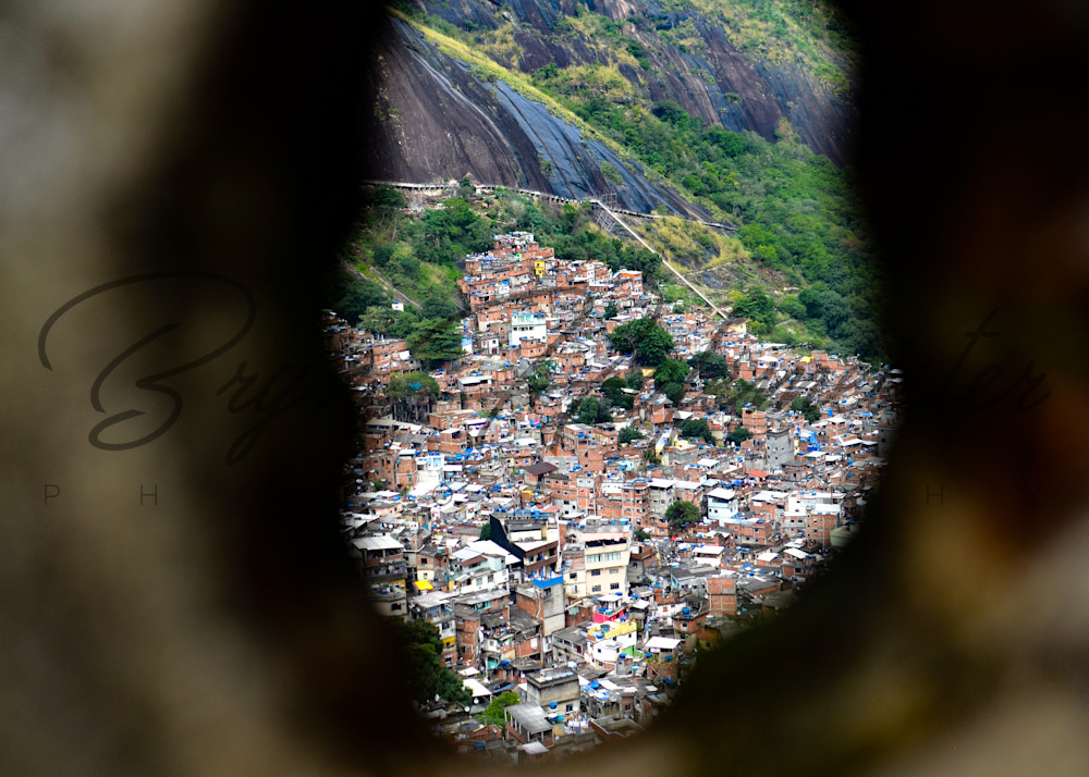 Peering Upon Rocinha  | Fine Art Travel Photographs