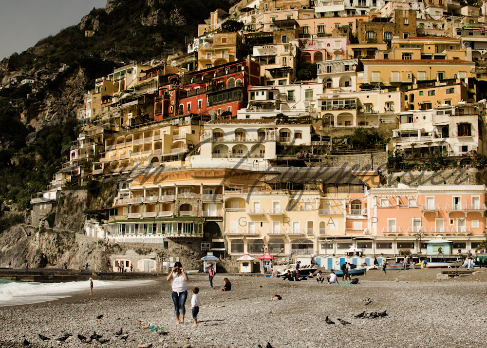 Cliffside Village of Positano | Fine Art Travel Photograph