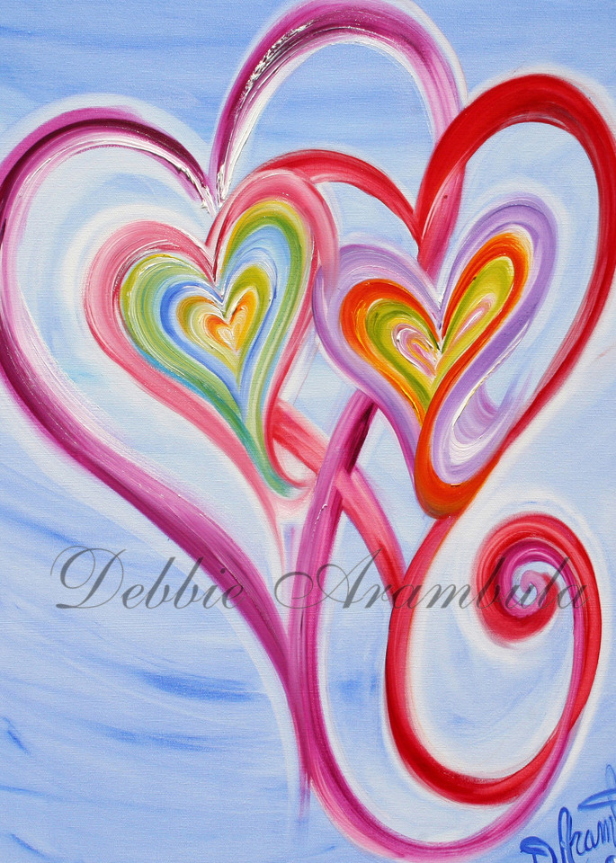 Mother And Daughter Art | Heartworks Studio Inc