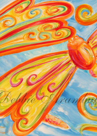 Dragonfly Dances Art | Heartworks Studio Inc