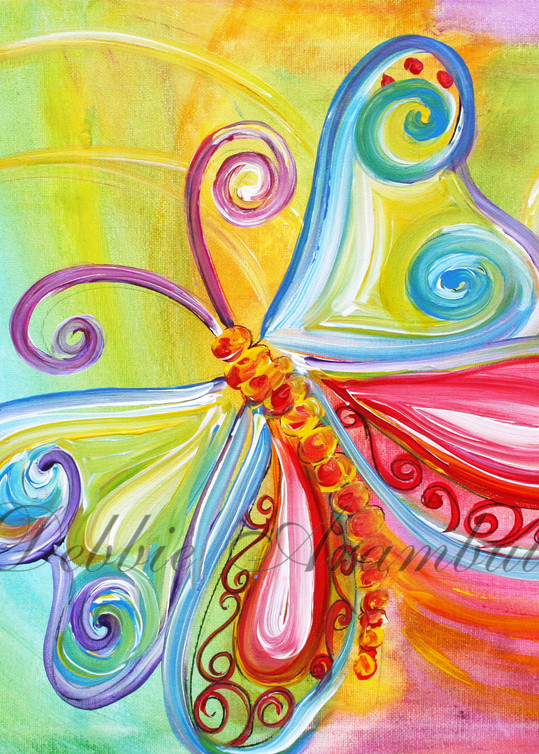 Flutterby Art | Heartworks Studio Inc