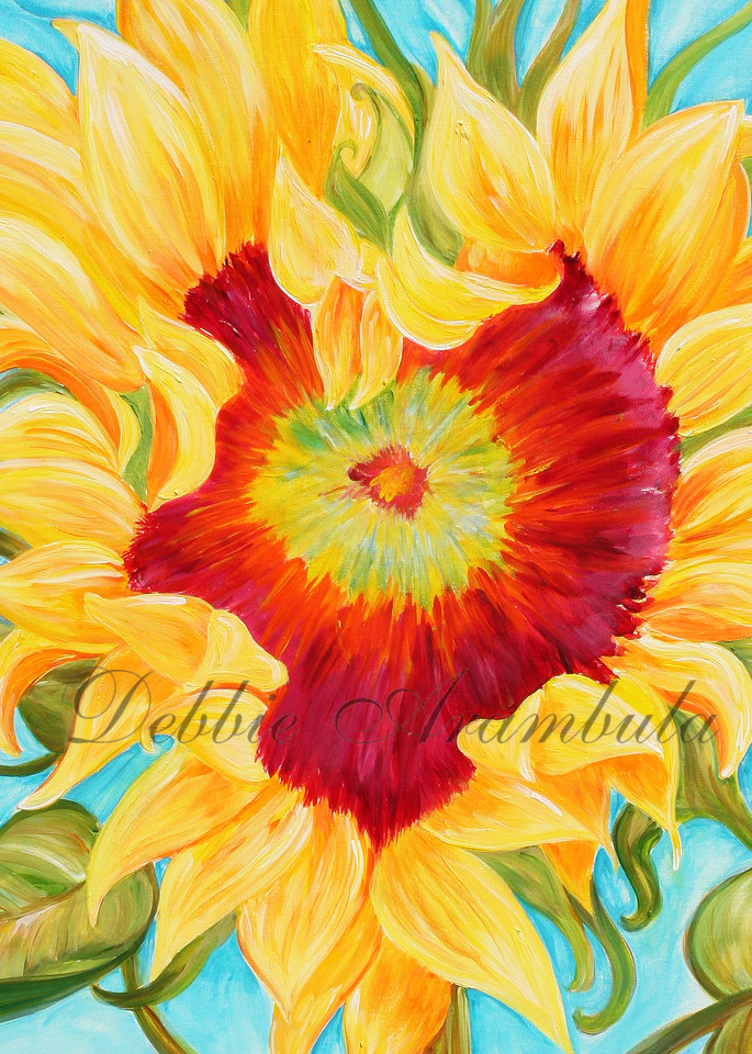 Coure Del Girasole Cropped  Art | Heartworks Studio Inc