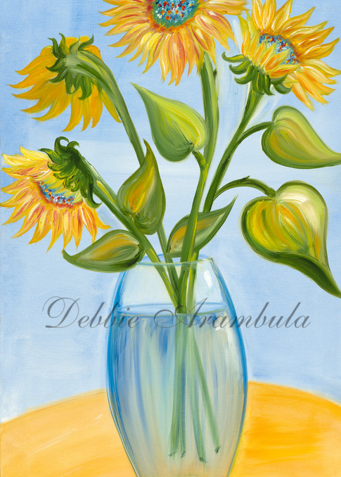 Sunflower Magic  Art | Heartworks Studio Inc