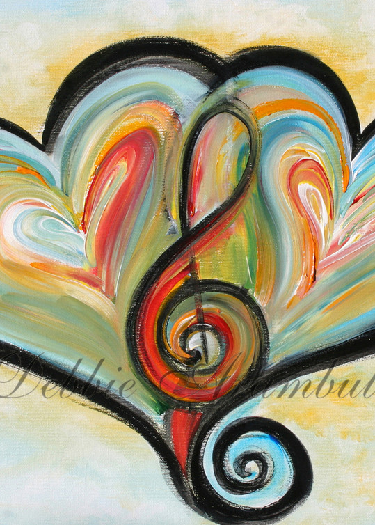 Musical Hearts Art | Heartworks Studio Inc